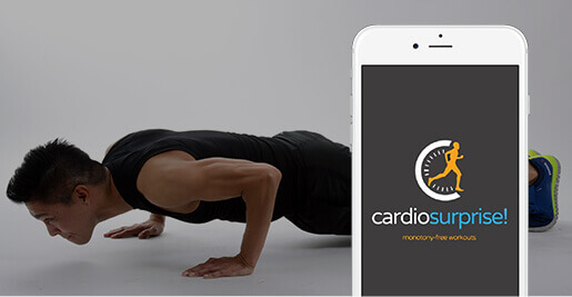 Cardio Surprise app thumb image