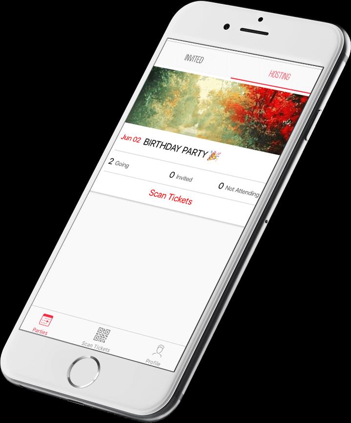 Loop app features - scan tickets