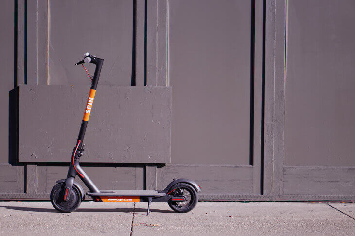 E-scooter-App-Spin