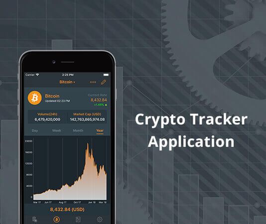 Crypto Tracker Application