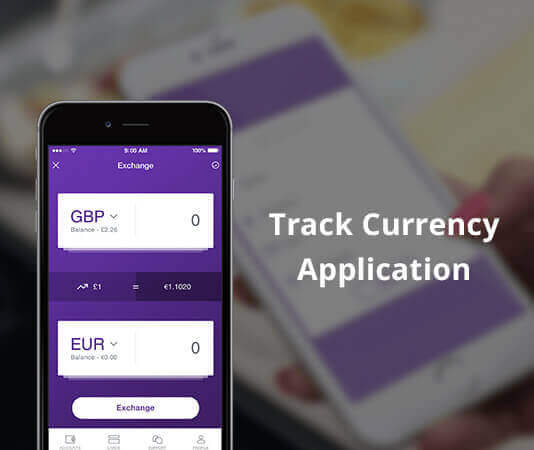 Track Currency Application