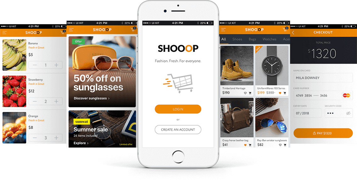 eCommerce mobile app development, Create Your Own AMAZON An eCommerce & Retail Shop Mobile App