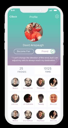 social app profile