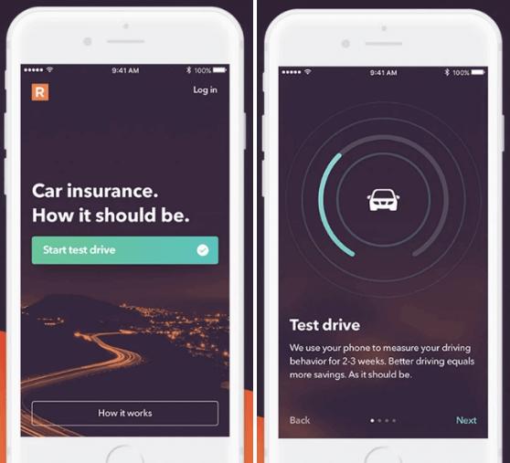 Auto App Insurance App development