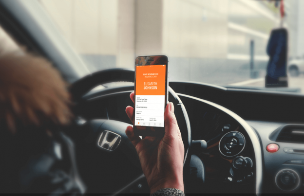 car insurance app development