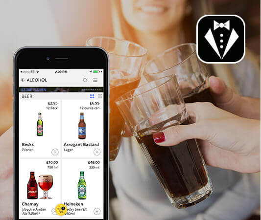 Bevy Alcohol Delivery App