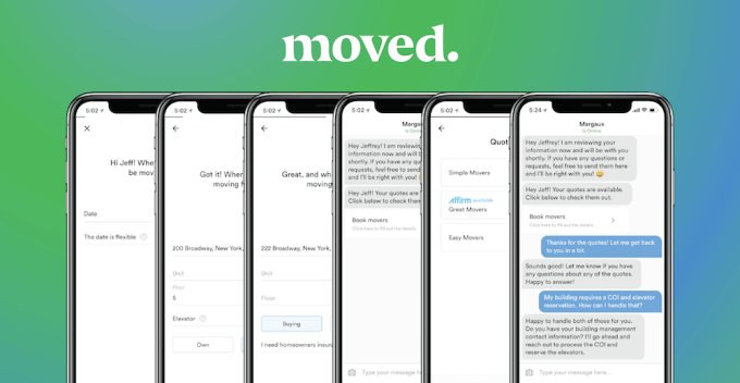 Moved-App  - Moved App - Top 3 Solutions by GoShare & Moved