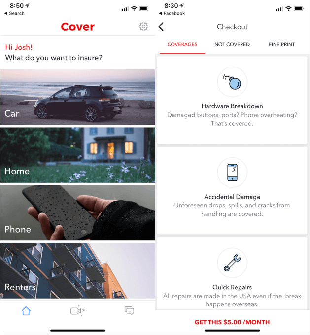 On-demand-Insurance-Cover-App