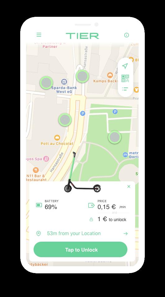 E-scooter-Rental-App