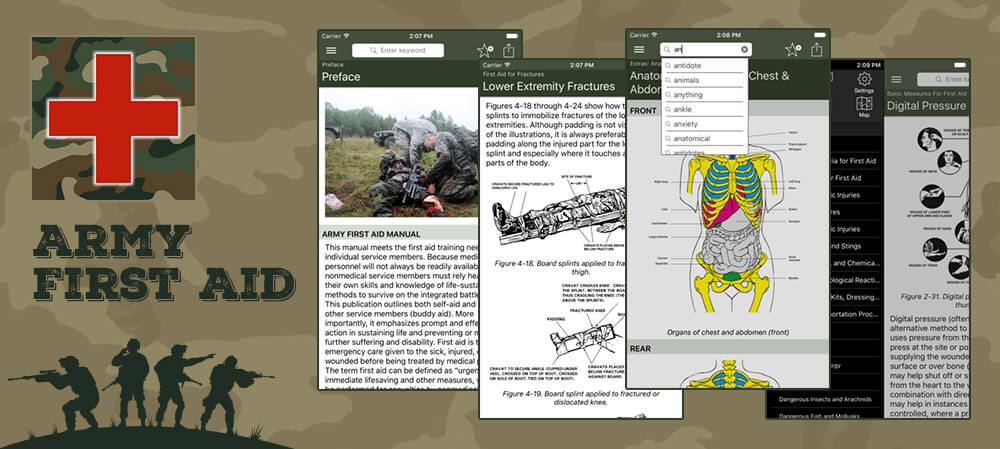 Army-first-AID-mobile-app