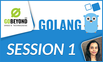 Golang training session 1