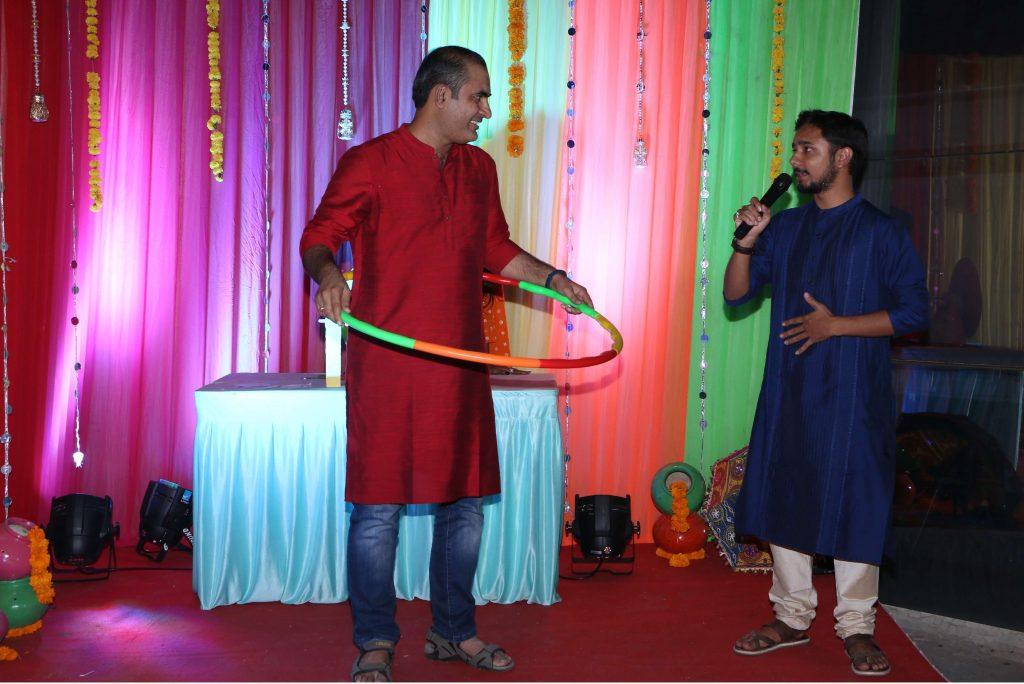 Narendra Purohit and Nimish