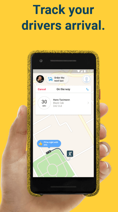 mytaxis app-1