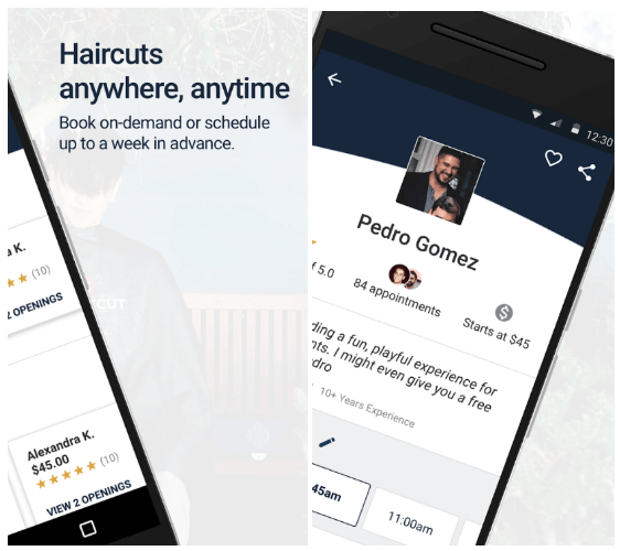 Uber for haircut
