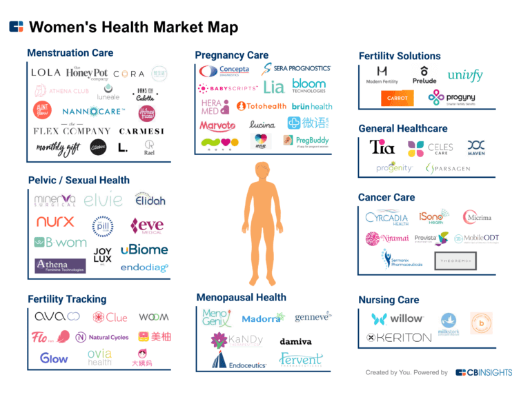 Womens-Healthcare-Market-Map