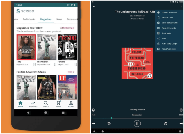 Scribd-Reading-Subscription-App