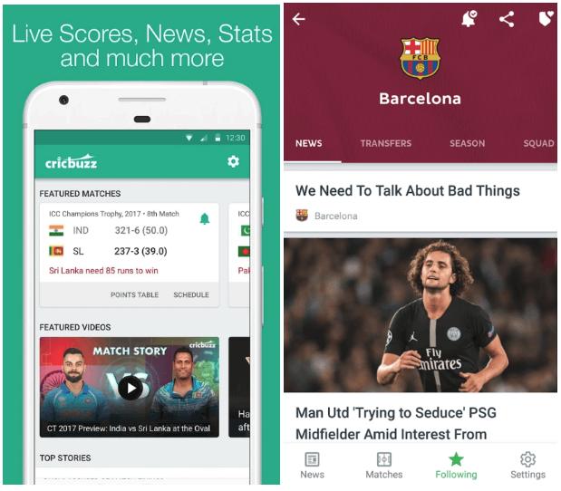 Sports-Apps-Development