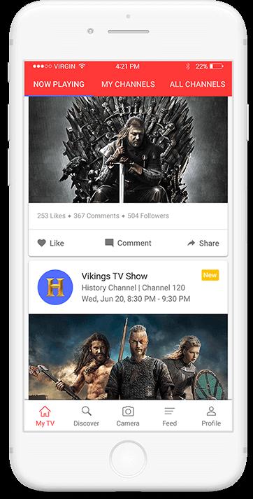 Tictalk app main screen