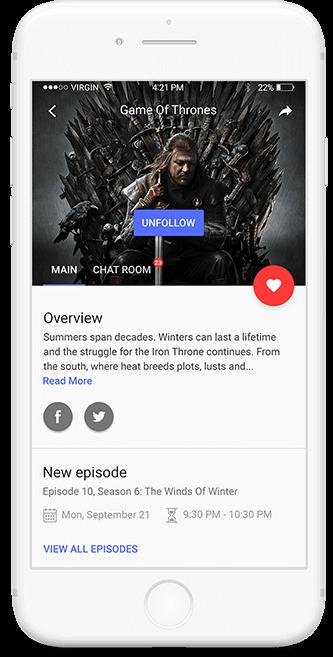 Detail info about episode on TicTalk app
