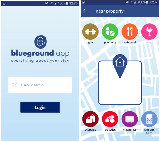 Blueground apartment rental App