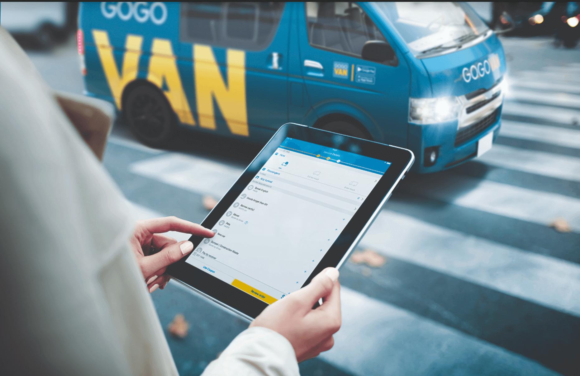 GoGoVan-app