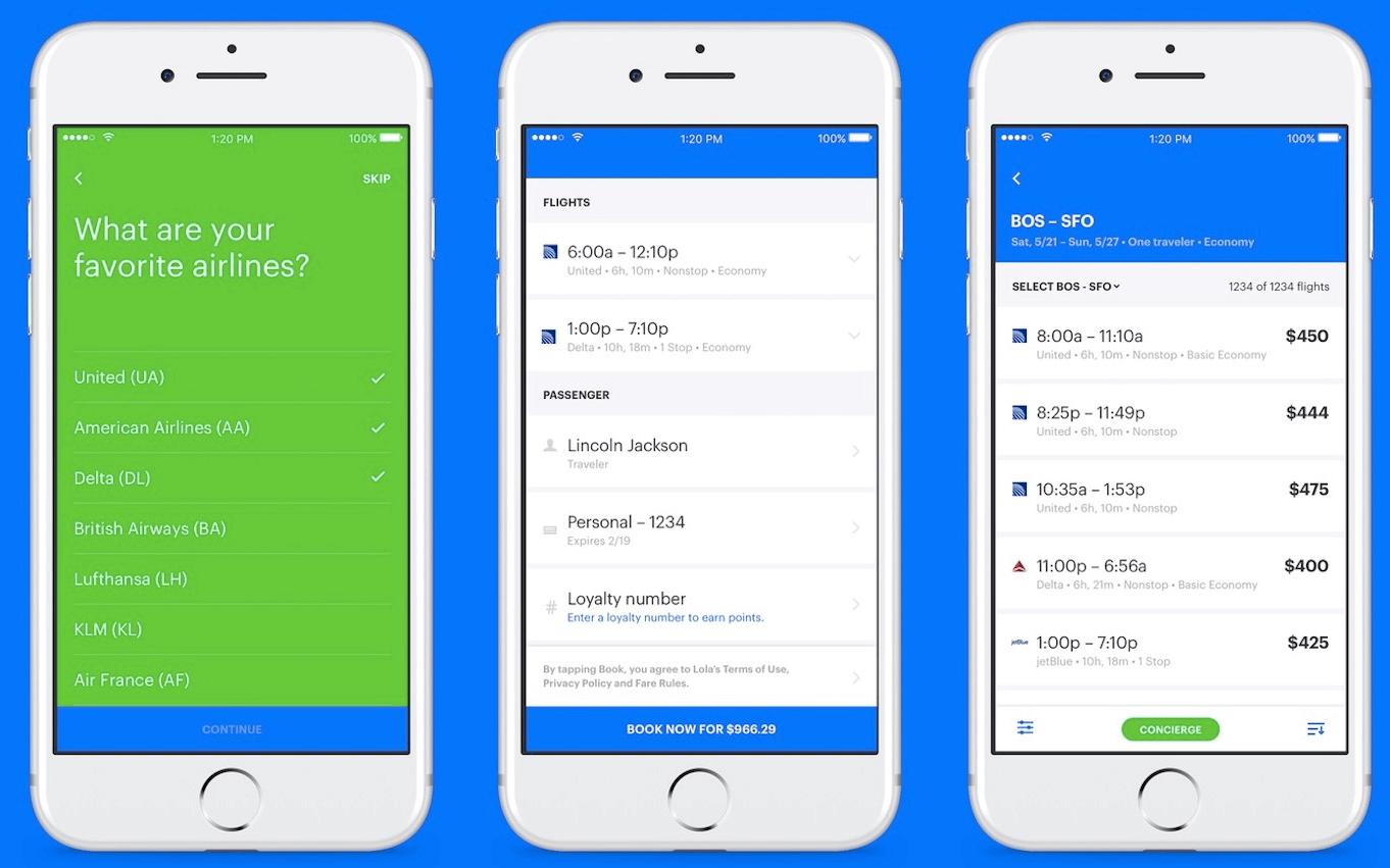 lola.com-business-travel-app