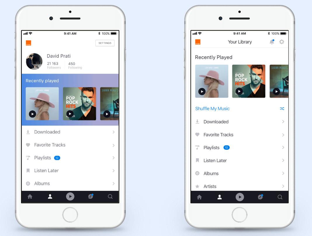 Deezer-app