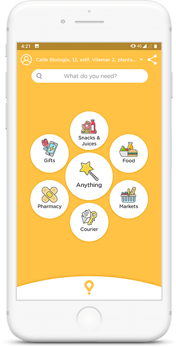 Glovo - A Courier Delivery App in Spain