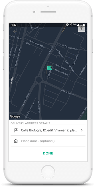 Real-time Updates of Glovo app