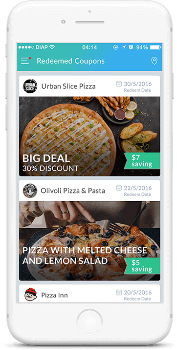Coupons and Deals App