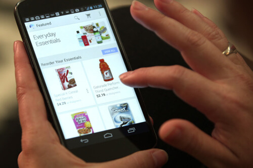 Online Supermarket Mobile App Solution