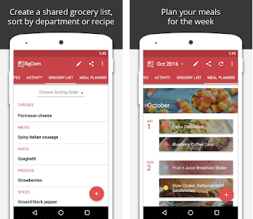 meal planner app development