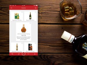 app like Uber for alcohol delivery