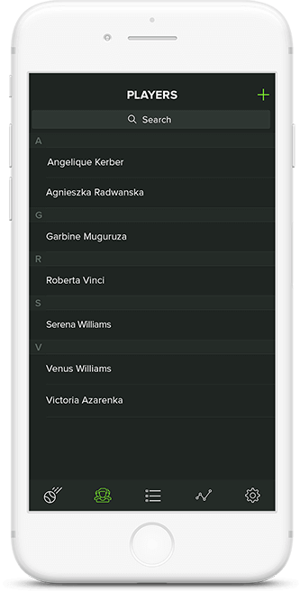Custom format feature in Game Set Stat app