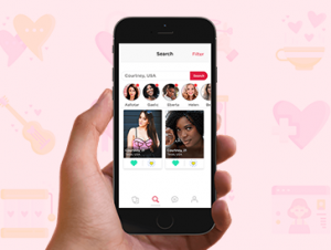 Swype dating mobile app