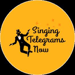 Singing Telegrams Now Logo