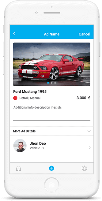Create Car ads on Carco app
