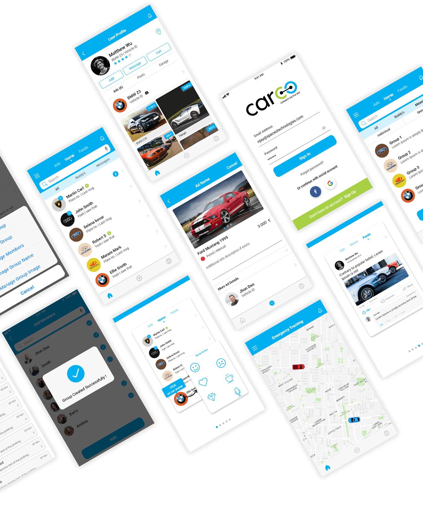 Carco app final interface