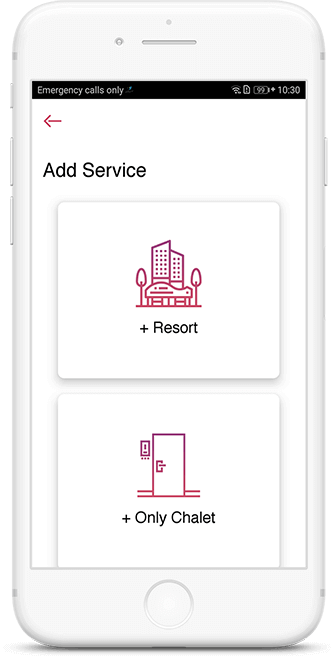 Add services in Nuzhah Host app