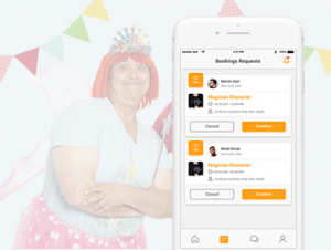 Party Performer Booking App