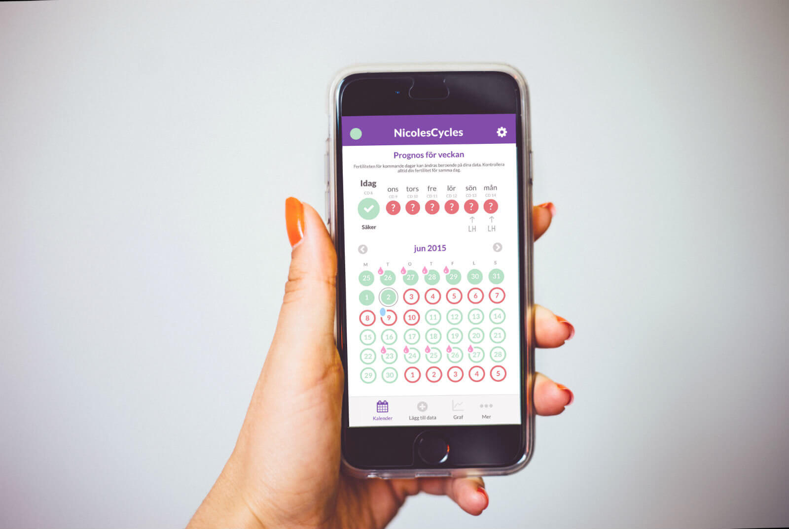 period tracker app development