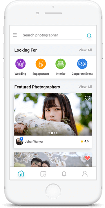 On Demand Photographer App
