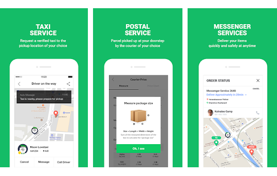 delivery service app