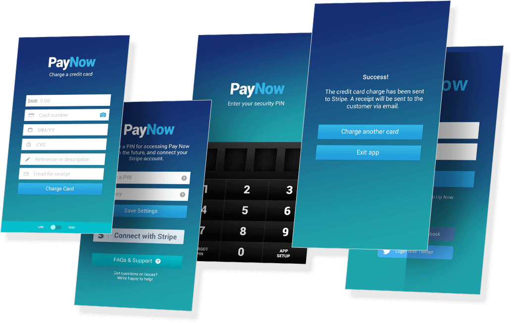 Payment Mobile App Features