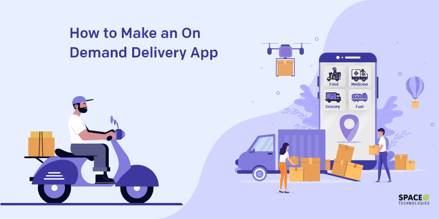 on demand delivery app development