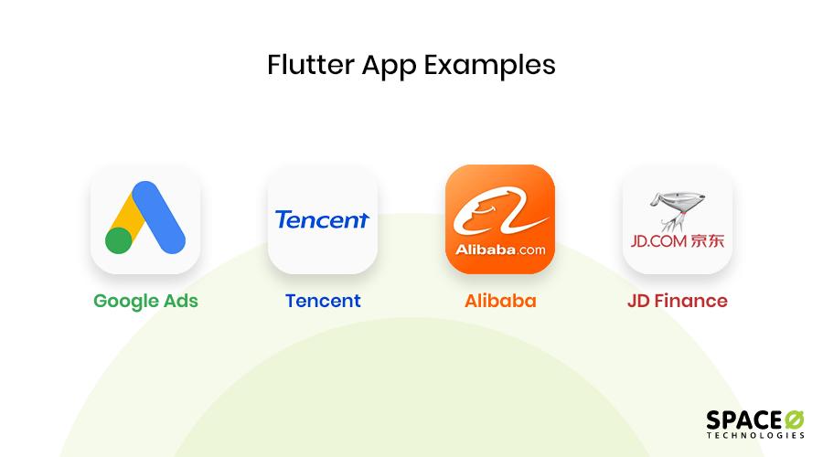 Flutter app examples