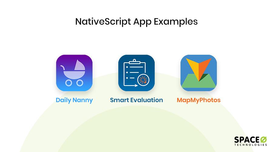 NativeScript app examples