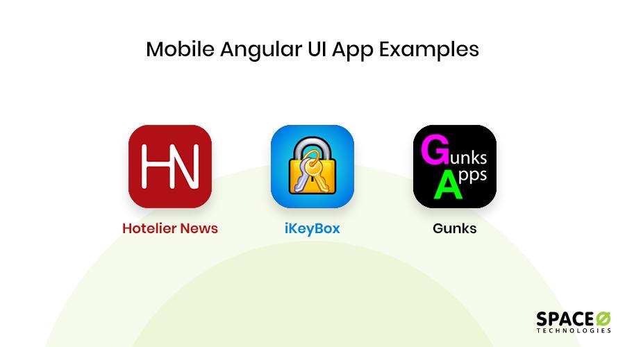 Mobile Angular UI app examples