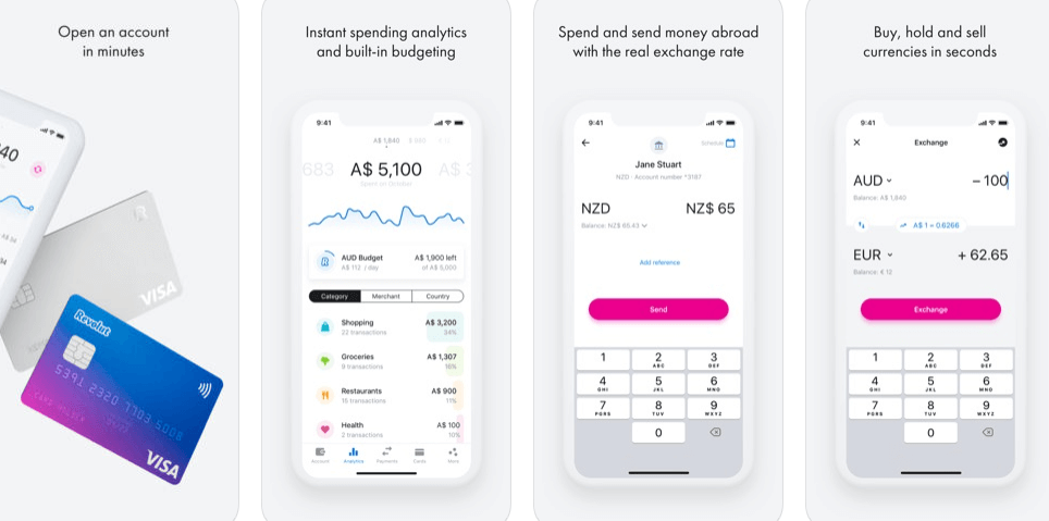 Best Bank Mobile App - revolut