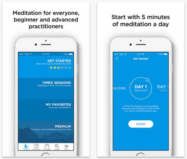 meditation mobile apps
